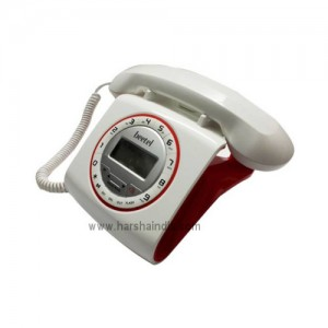 Beetel Corded Phone M73 White & Red